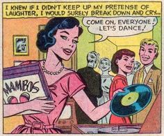 Let's dance! Comic Books Art, Comic Art, Radios, Dream Music, Vinyl Junkies, Vintage Vinyl Records, Music Images, Comic Panels, Pulp Art