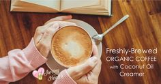 On somecolddays,I like to have a hot cup of coffee and curl up with a good book. I have established that a cup of freshly-brewed organic coffee canactually even be healthy. I don't neglect my fresh juices, and there is a time for that too. So you can imagine the first timeI'd heard about adding …
