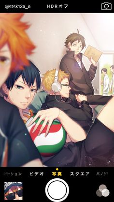 This idea is really cool!! Haikyuu!!