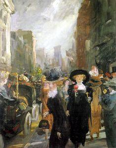 John French Sloan - Fifth Avenue, New York, 1911