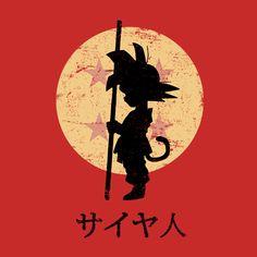 Son Goku T-Shirt -por ddjvigo