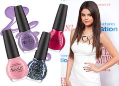 Selena Gomez for Nicole by OPI - Selena Gomez Nail Polish - ELLE