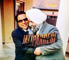 #DharmendraJI and #JaspreetSinghAttorney at Law USA in a movie scene in up coming Punjabi movie #JattPardesi Coming soon.