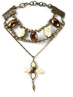 Jean Paul Gaultier Vintage Embellished Necklace - Dressing Factory - Farfetch.com