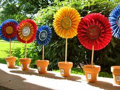 Cute craft idea for Kids riding camp