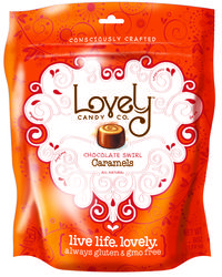 Love this packaging design. The Lovely Candy Company - The Lovely Candy Company