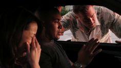 "Burn Notice 5x02 ""Bloodlines"" - Sam Axe (Bruce Campbell), Jesse Porter (Coby Bell) & Ryoko Maji (Eiko Nijo)"