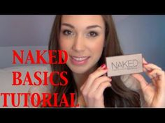 Urban Decay Naked Basics Tutorial