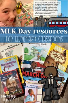 Martin Luther King, Jr. Day in the Elementary Classroom