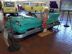"Original Turnpike car from the old ""Fair Park"" in Nashville 1952-1987.  Saw this at the Lane Motor Museum in Nashville."
