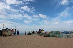 Algarve-Armaçã da  Pêra/ halászok
