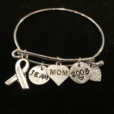Personalized Memorial Tribute Bracelet Personalized Memorial Tribute Bracelet. This bracelet is made personally toy you. The name of that special person in your life will be hand stamped and the year for your remembrance. Jewelry Bracelets
