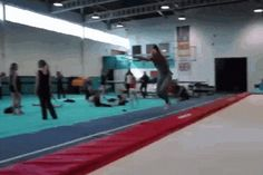 The Double Backflip To A Flying Reverse Tuck