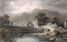 "Keswick: ""On the way,"" he says, ""we passed at the foot of Skiddaw, which is a good height; the vale, as far as mist, rain, and twilight will permit me to judge of it, is very beautiful."""