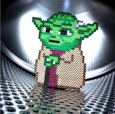 Star Wars Yoda hama perler beads