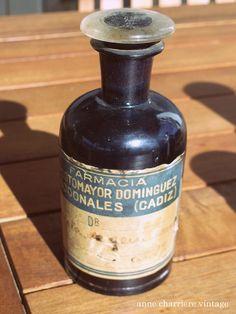 Antique chemistry jars