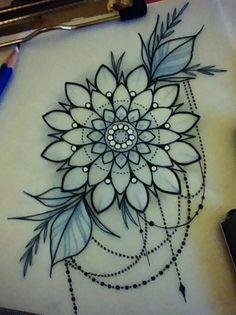 mandala sketch i.d up tattoos, mandala - mandala sketch Tribal Heart Tattoos, Girly Tattoos, Up Tattoos, Body Art Tattoos, Hand Tattoos, Sleeve Tattoos, Flower Tattoo Hand, Flower Tattoo Drawings, Flower Tattoo Designs
