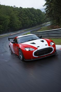 Aston Martin V12 Zagato at the Nurburgring Picture #8, 2011