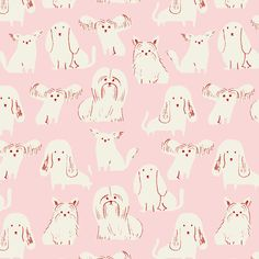 Risultati immagini per bikini sous la pluie Art And Illustration, Animal Illustrations, Textures Patterns, Print Patterns, Pattern Designs, Kids Patterns, Pattern Print, Vector Dog, Zine