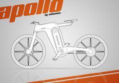 Apollo E-bike Concept // Design by Pedro Almeida