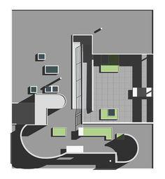 Villa Savoye, Poissy (1928-1931) | Le Corbusier | Archweb Plan