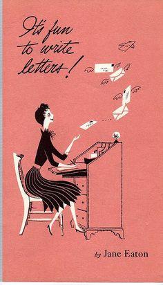 Pen pals 4 Life #vintage