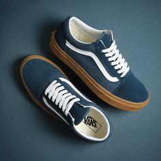 A great selection of Vans Old Skools, Vans Authentics, and Vans Eras here in the UK. We've stocked Vans shoes forever at Urban Industry! Vans Sneakers, Vans Shoes Outfit, Vans Shoes Fashion, Swag Shoes, Mens Vans Shoes, Supra Shoes, Sneakers Mode, Blue Sneakers, Casual Sneakers