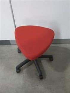 Storr Used Office Furniture Teknion Triangular Spinner Stool 35