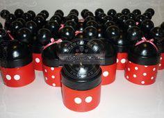 Golosineros de Mickey y Minnie Mouse