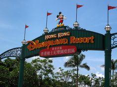 Hong Kong Disney!  It felt small but it was still Disney....a fun place to be.