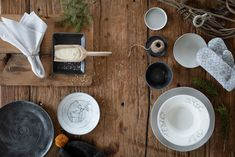 Pentik Kivi, Posio, Saaga and Kallio ceramic dishes are perfect for cozy old log house. They are also great Christmas gifts!