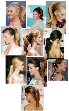Pumped-Up Ponytails - How to included