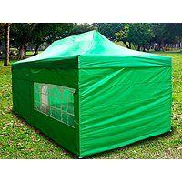 Cheap price New Light Green Deluxe EZ up Canopy Pop Up Tent 15' X 10' Gazebo Sun…
