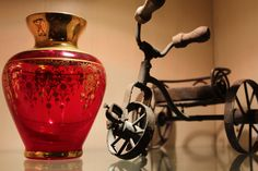 The vase is Murano glass I bought in Venice.