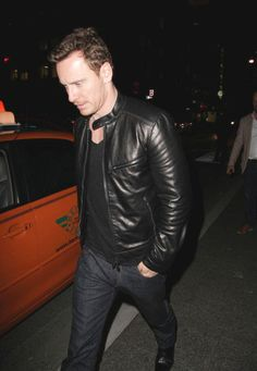 Michael Fassbender at the Soho House in Toronto