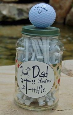 Dad Father's Day DIY Golf Gift