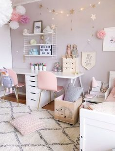 46 The Most Popular Girls Bedroom Ideas Tween 10 Year Old Diy targetinspira Girl Bedroom Designs Bedroom DIY Girls Ideas Popular targetinspira Tween year Cute Bedroom Ideas, Cute Room Decor, Girl Bedroom Designs, Bedroom Themes, Bedroom Ideas For Tweens, Diy Room Decor For Girls, Girl Room Decor, Girls Bedroom Ideas Teenagers, Room Color Ideas Bedroom