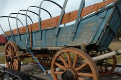 Farm life: The Conestoga wagon, a Pennsylvania German invention, This example is thought to have been made in Lancaster County in the 1830s and is currently slated for restoration.