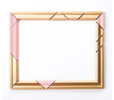 DIY Abstract Picture Frames