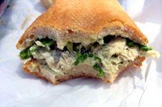 Flanagan's Italian Chicken Salad Sub at Toastie's Sub Shop, 215 S. Lamar Blvd, Ste A, Austin goo. Menu Items, Food Items, Italian Chicken, Restaurant Branding, Chicken Salad, Inspired, Ethnic Recipes, Shop, Foods