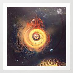dyrk psylynss Art Print by Spires - $20.00