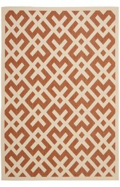 Safavieh Courtyard CY6915 Terracotta Rug $108 or less with google offer