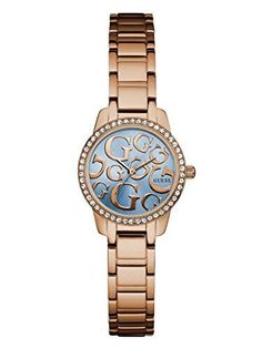 f79f08ca410f Guess Watch for Women GUESS Rose Gold-Tone Iconic G Watch     Visit the  image link more details.