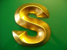 Gold Moulded Letter s | Flickr - Photo Sharing!