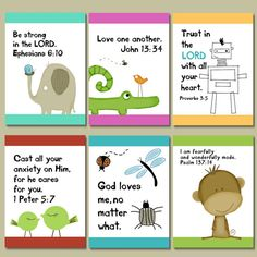 KIDS Scripture and encouragement for your mirror. Includes suction hook. Start and end their day right.