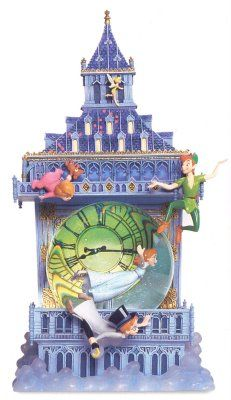 Disney Snowglobes Collectors Guide: Peter Pan Big Ben Snowglobe