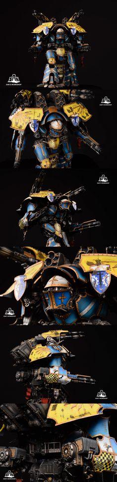 75 Best Warhound Titans images in 2017 | Imperial knight, Warhammer