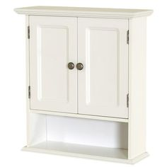 Zenith - Collette Inch W Wall Cabinet In White - - Home Depot Canada or...  if this looks cheap