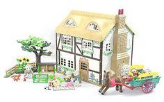 *fistuff* Sylvanian Families Decorated Highfields Farm House Pony &Cart HUGE LOT | eBay