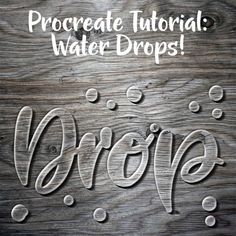 I'm messing around again with trying to recreate Photoshop effects in Procreate. This time, I'm doing words created out of standing water! In this tutorial, we're goin… Digital Painting Tutorials, Digital Art Tutorial, Digital Paintings, Procreate Tutorial, Ipad Pro, Do It Yourself Design, Drawing Letters, Lettering Tutorial, Levitation Photography
